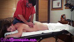 Masaj salonunda başlayan erotik seks