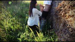 Ormanda kız arkadaşıyla ilişkiye girdi