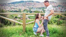 Rus sevgili ile sokakta seks yapma macerası